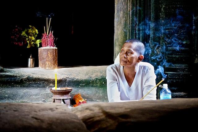 Chau Say Tevoda Cambodia, ©minisuitcase.co.uk 2013