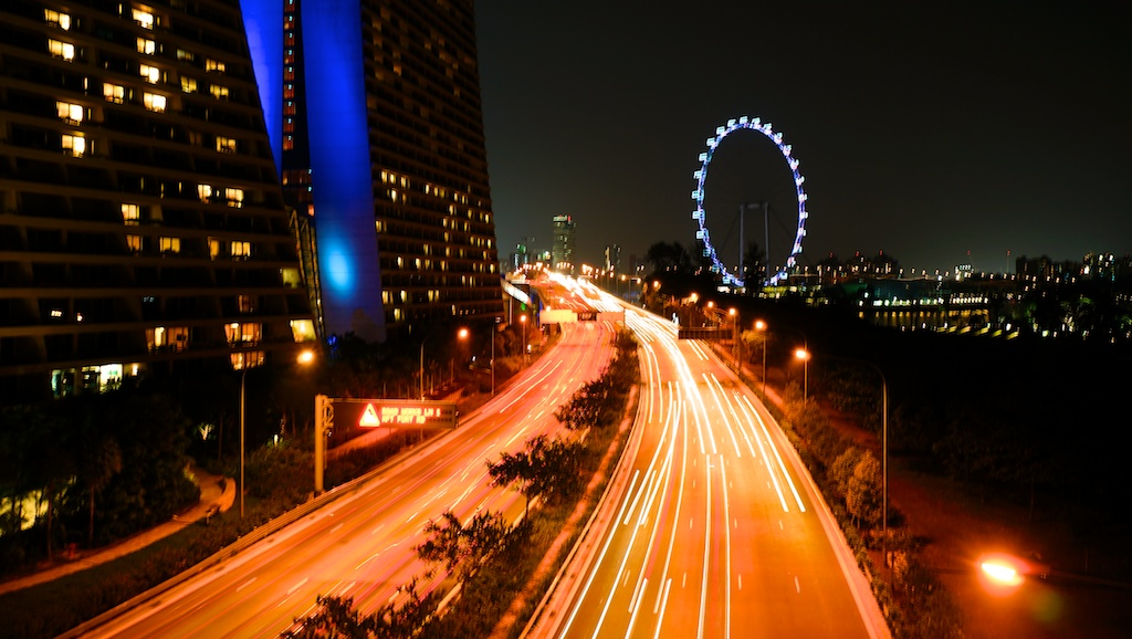 Singapore long exposure