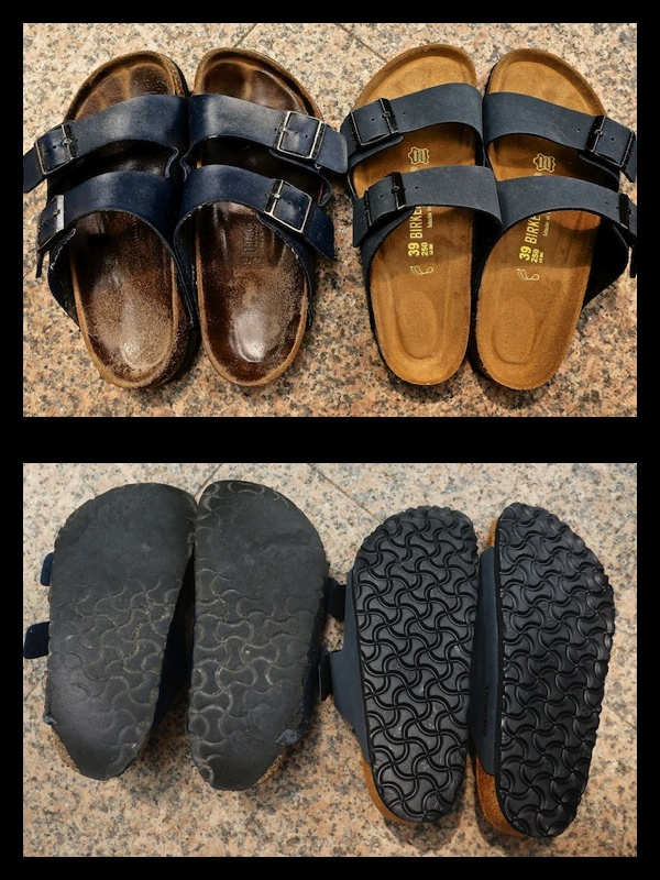 Birkenstocks: 11 months wear next to new