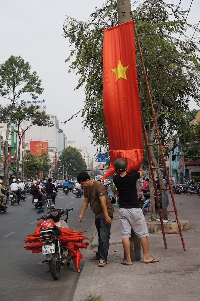 Preparing the city for Tet