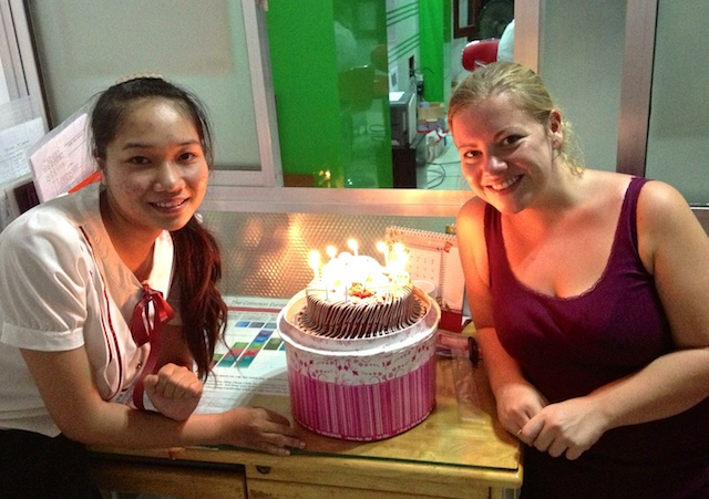 Birthday in Hue Vietnam