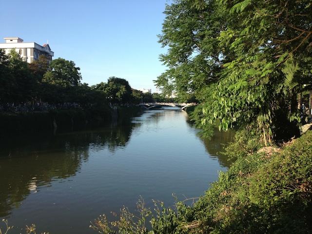 river in Hue Vietnam
