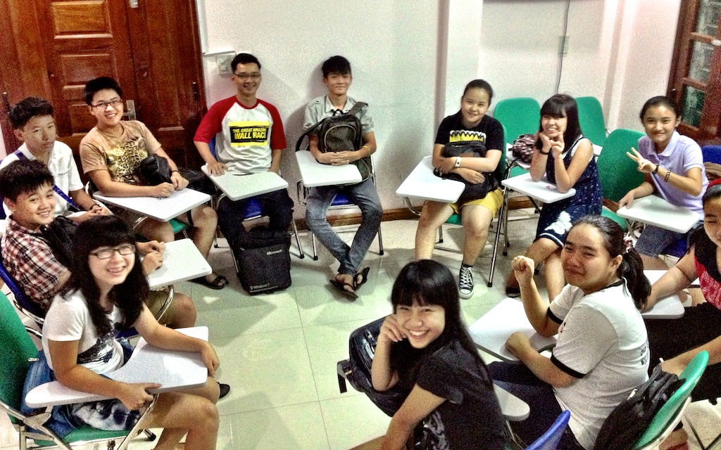 Teaching KET Cambridge in Vietnam