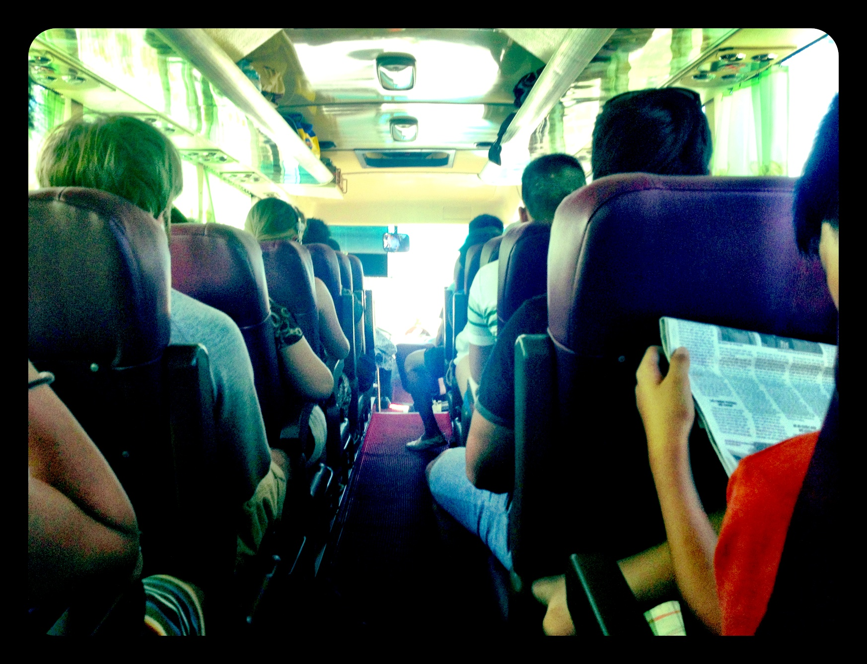 iphone pic Hue to Danang Bus