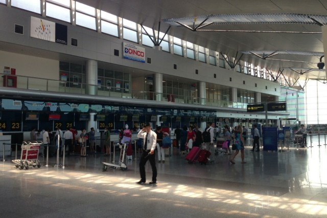 Check in at Da Nang International
