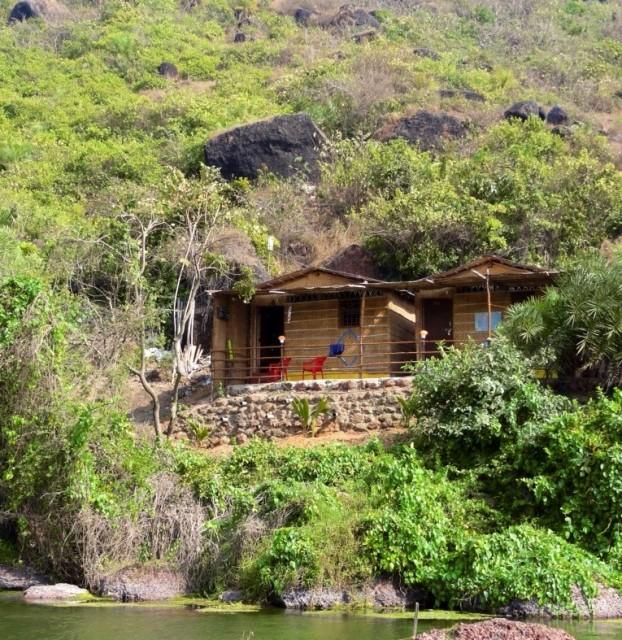 beach hut on Kalacha beach