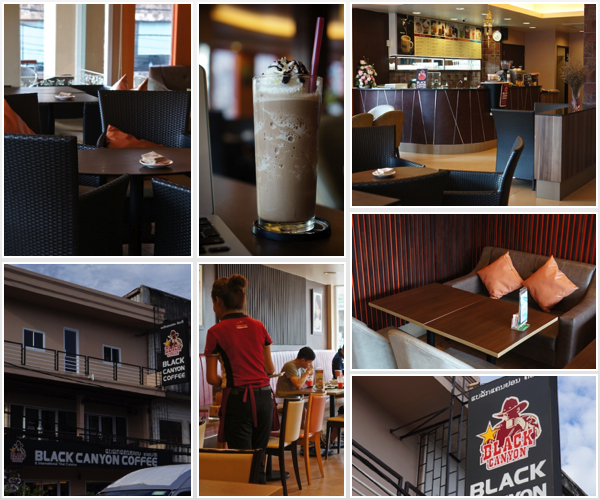 Black Canyon Coffee in Vientiane the winner of Best Coffee Shop 2013