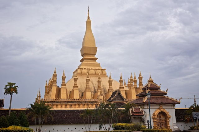 The Great Sacred Stupa, Vientiane