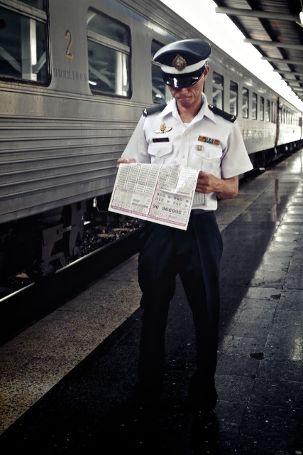 train staff Thailand