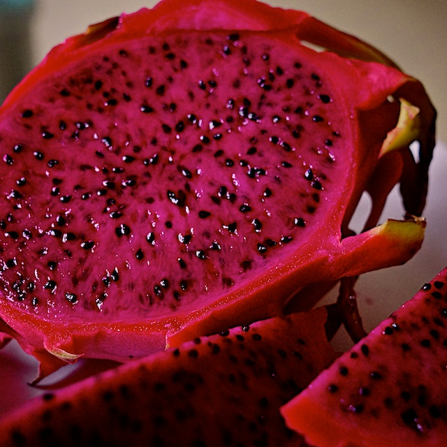 pink red dragon fruit