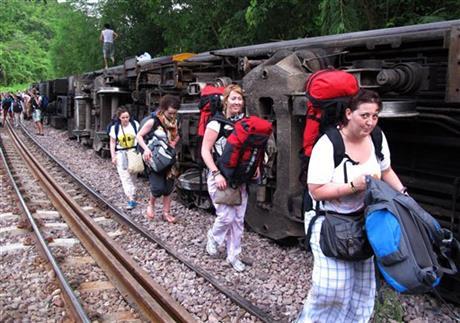 BKK to CM derailments