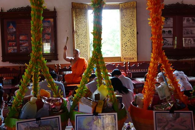 Wat Phra Singh monk