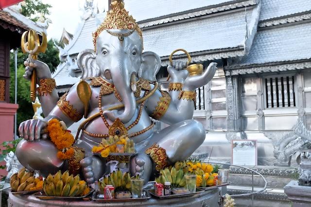Temples in Chiang Mai Wat Si Supan Ganesh