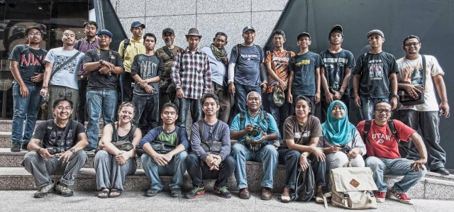 Group shot of the FJM photographers in Kuala Lumpur, Malaysia December 21st 2013