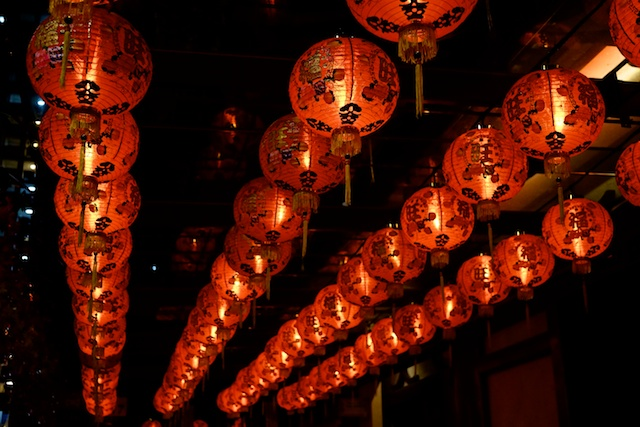 Buddha Tooth Relic Temple Lanterns