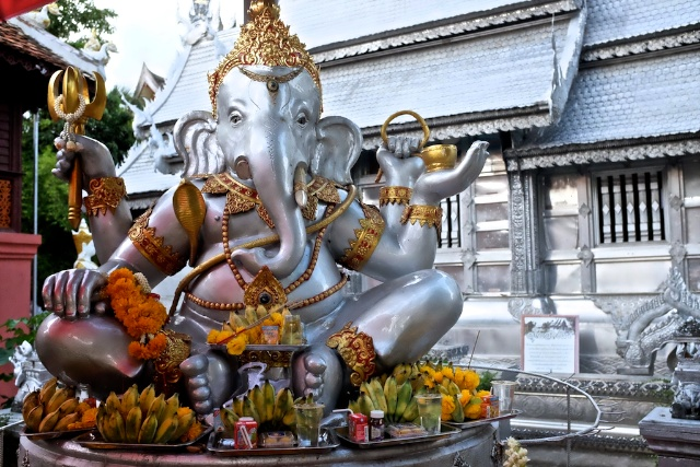 Ganesh at Sri Supan Temple in Chiang Mai