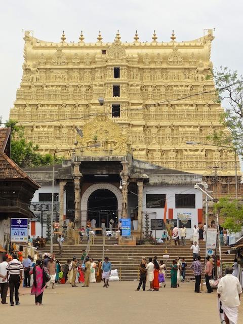 Sree Padmanabhaswamy Temple in Trivandrum