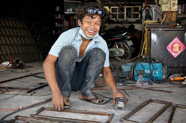 Welder, Siem Reap Cambodia