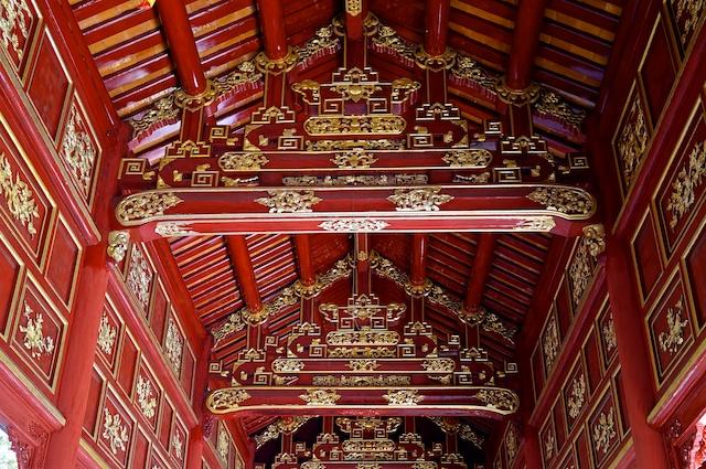 Hue Citadel Roof Reconstruction Vietnam