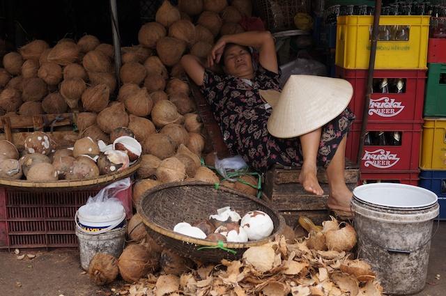 DongBa Market, Hue, Vietnam