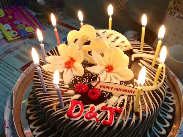 Vietnamese Birthday Cake