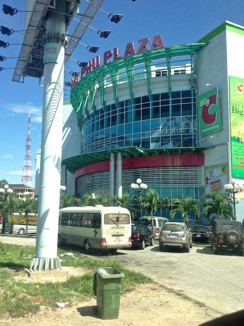 Big C Supermarket in Hue Vietnam