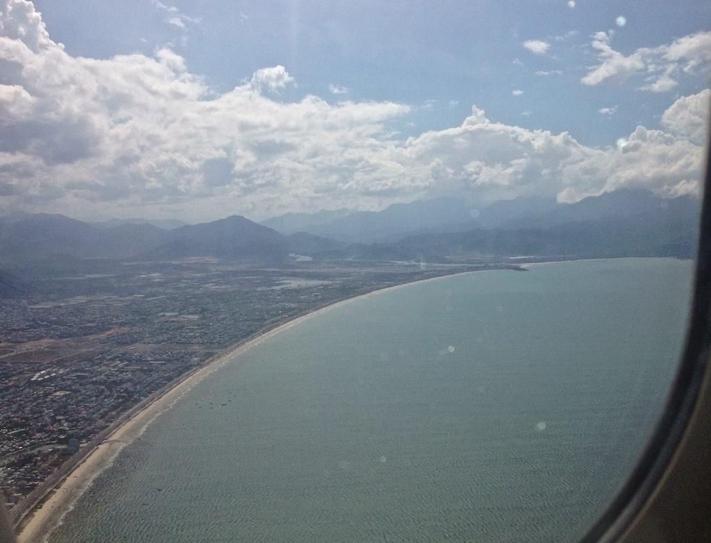 My Khe Beach from the air AKA China Beach