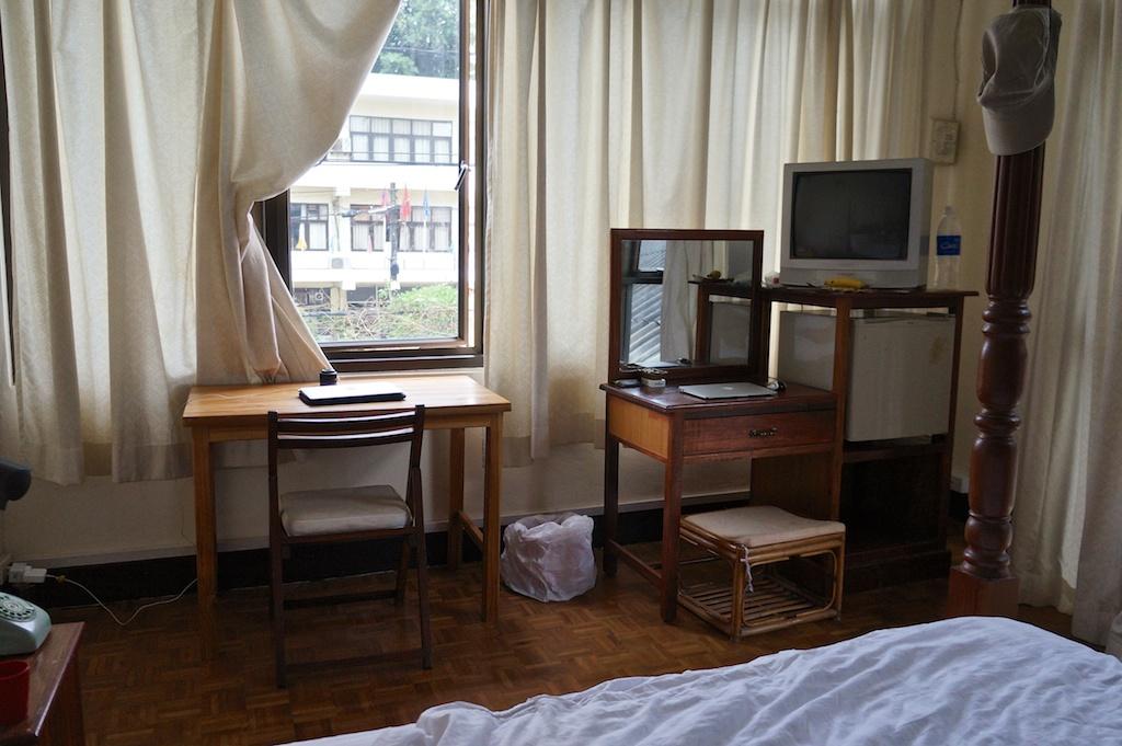 Hotel Samsenthai room, Vientiane, Laos