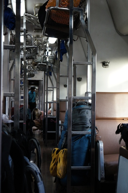 Train 70 Vientiane to Bangkok in daytime mode