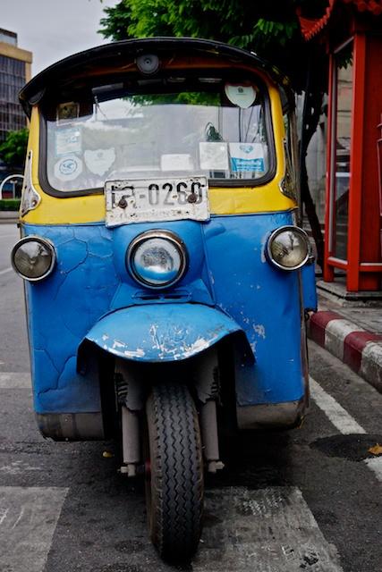 Tuk Tuk on Yarowat Road