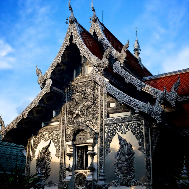 Temples in Chiang Mai Wat Muem San silver temple