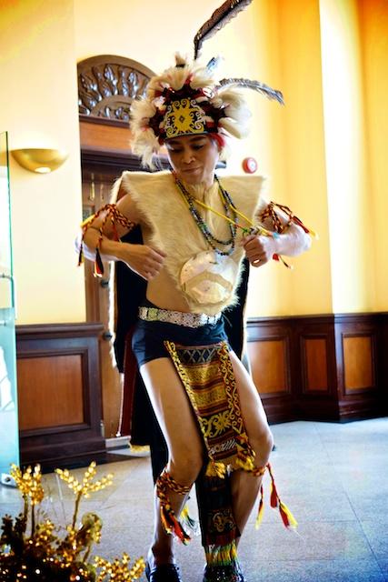 Malaysian dancer in KL