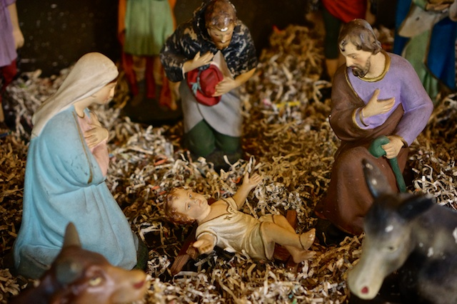 Manger at St Mary's Cathedral in Kuala Lumpur