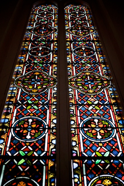 Two Days in Singapore St Andrews Cathedral stained glass