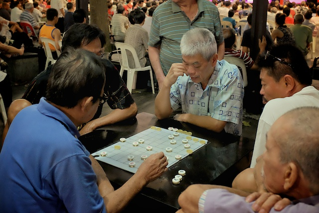 Two Mostly Free Days in Singapore Evening chess