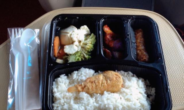 Vegetarian Option on return journey Transtar Coach SG to KL