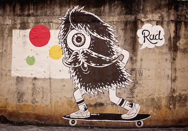Hairy Skateboarder 'Rud' Kad Suan Kaew